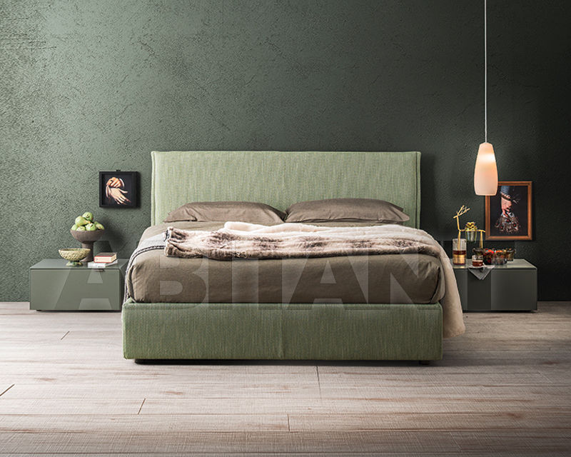 Bed Aren light green Alf Uno s.p.a. L24PAR