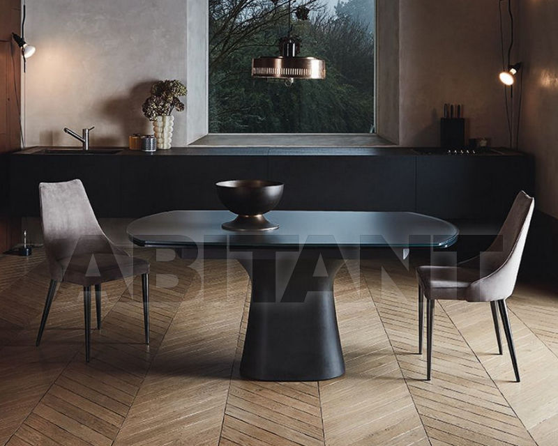 Dining table podium black bontempi buy rder for Table 52 prices