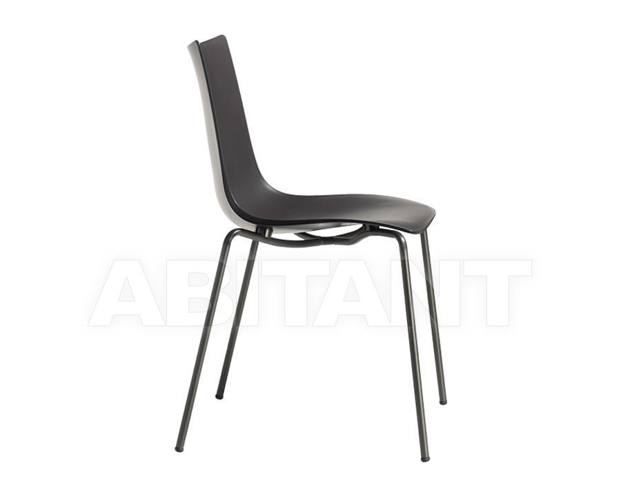 Chair Zebra Technopolymer Black Scab Design Scab