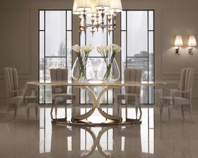 Dining Table DV HOME COLLECTION 2014 KENT PLUS Art Deco Nouveau