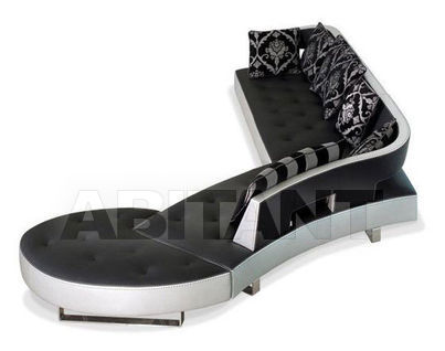 Big black Formenti Divani soft furniture : Buy, оrder оnline on ABITANT