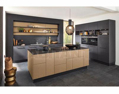 Kitchen Fixtures Nolte Kuechen MODERN KITCHENS Nappa Inca Gold/ Nature  Mocha Oak