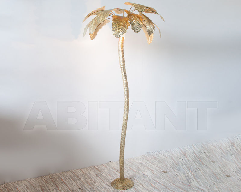 Floor Lamp Palm Tree Gold Zenza Palmlfl Buy Order Online