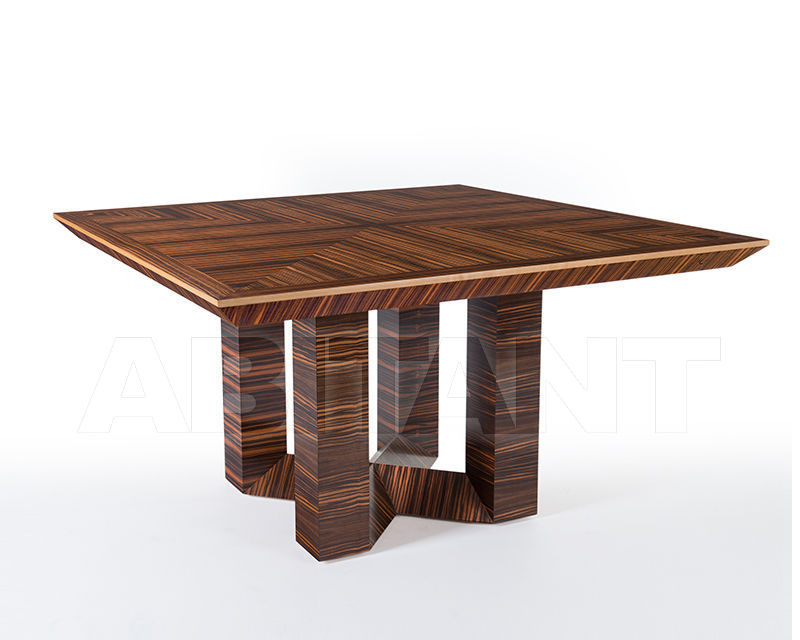 Buy Dining table ETTORE BERDONDINI  AB 1926 Historic Collection ETTORE square table