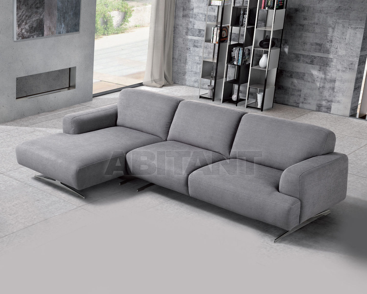 Peachy Sofa Vox Gray Loiudiced Vox Chaise Longue 1 Br 3 Posti 1 Caraccident5 Cool Chair Designs And Ideas Caraccident5Info