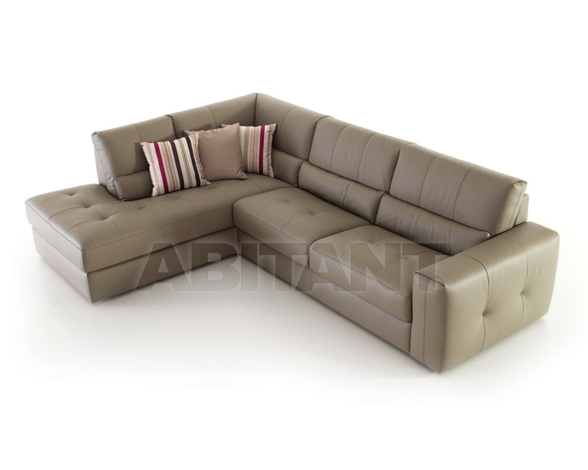 Sofa Light beige Nicoline BUTTERFLY Divano 3P 1 Br + Chaise L. 1 Br ...
