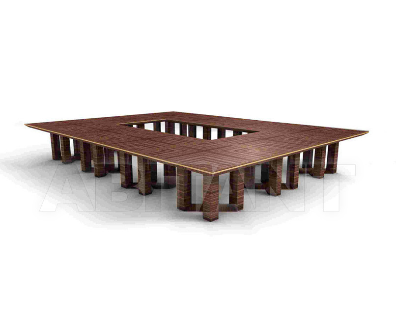 Buy Conference table ETTORE BERDONDINI  AB 1926 Historic Collection ETTORE rectangular table 28h