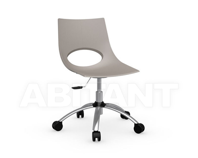 Chair congress gray connubia by calligaris cb p p