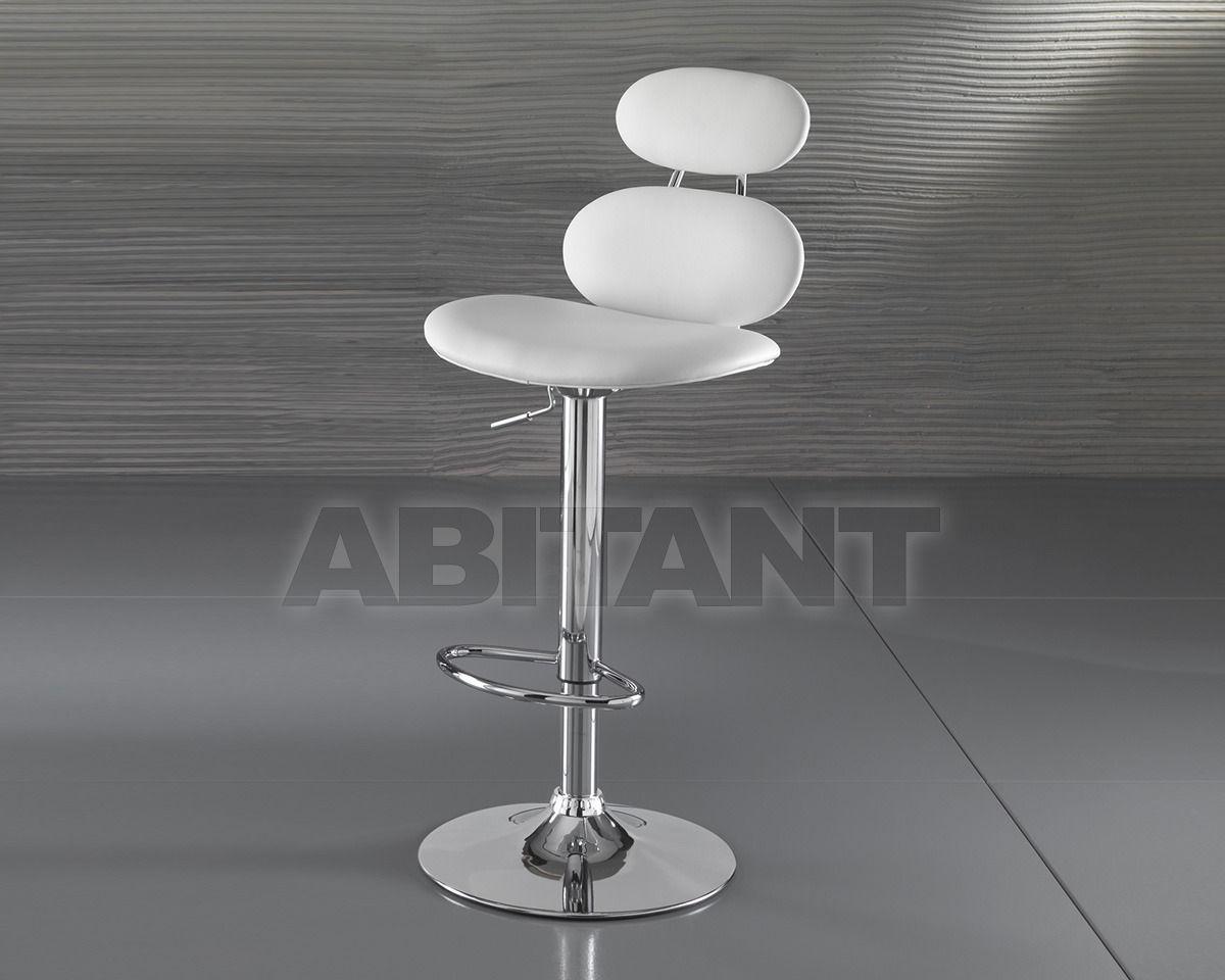 Bar stool cetus white f lli tomasucci