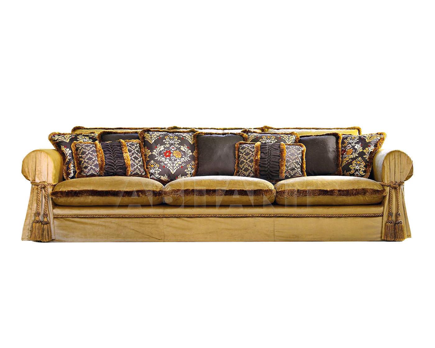 Zandarin Divani E Poltrone.Sofa William Yellow Siwa By Zandarin Silvano Divani E